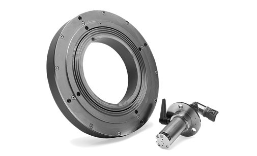 hydrokompenser uses coolant to balancer grinding wheels